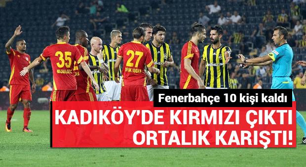 Kadıköy'de kırmızı çıktı ortalık karıştı!