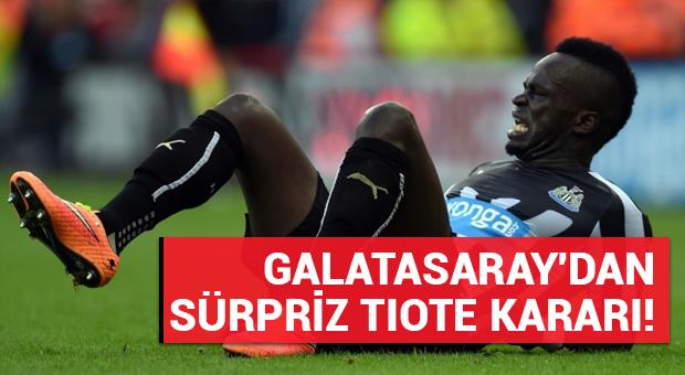 Galatasaray, Tiote transferinden vazgeçti