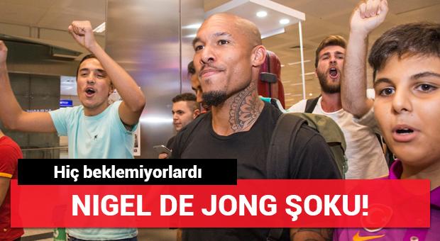 Los Angeles Galaxy'de Nigel de Jong şoku!