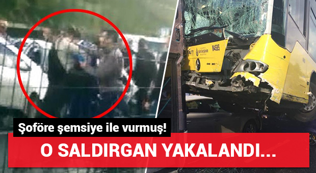 Kazaya neden olan saldırgan yakalandı