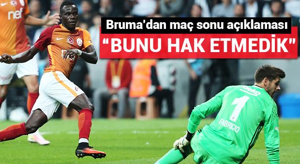 Bruma'dan maç sonu açıklaması!