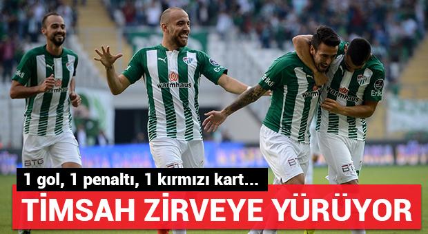 Bursaspor zirveye yürüyor...
