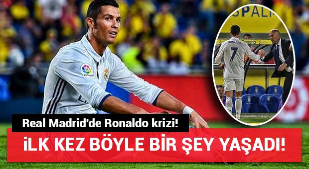 Real Madrid'de Ronaldo krizi!