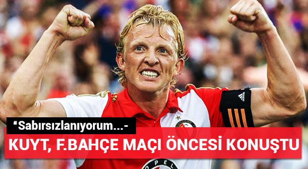 Dirk Kuyt'tan Fenerbahçe'ye mesaj!
