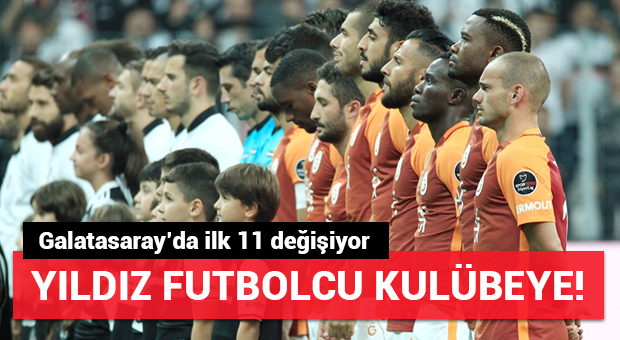Galatasaray'da Chedjou ilk 11'deki yerini kaybetti!