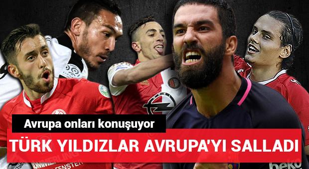Türk yıldızlar Avrupa'yı salladı