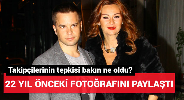 Pınar Altuğ 22 yıl önceki fotoğrafını paylaştı
