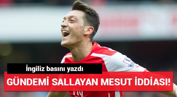 Mesut Özil için bomba imza iddiası!