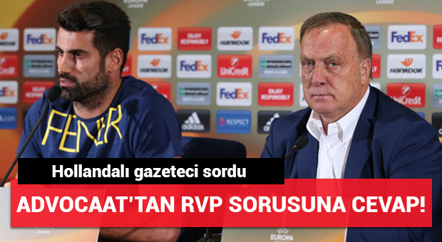 Advocaat ve Volkan Demirel basın toplantısında konuştu!