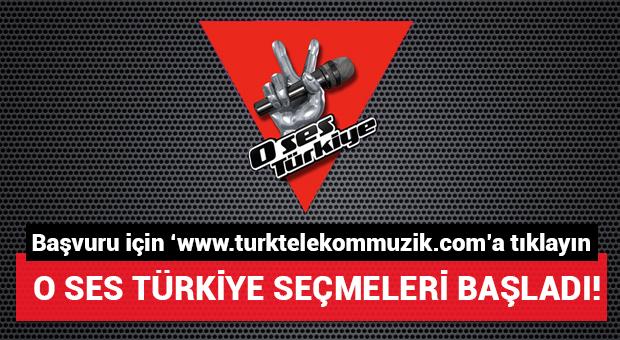 O Ses Türkiye'ye başvuru için tıklayın!