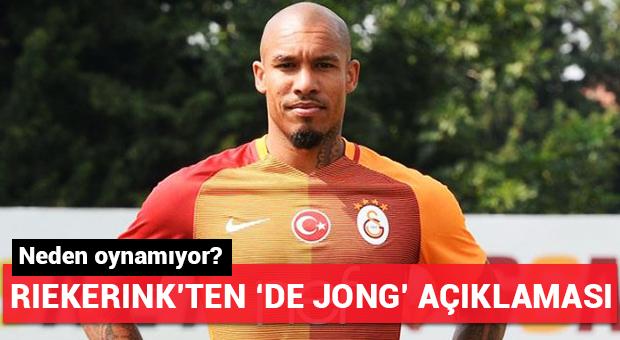 Riekerink'ten De Jong açıklaması!