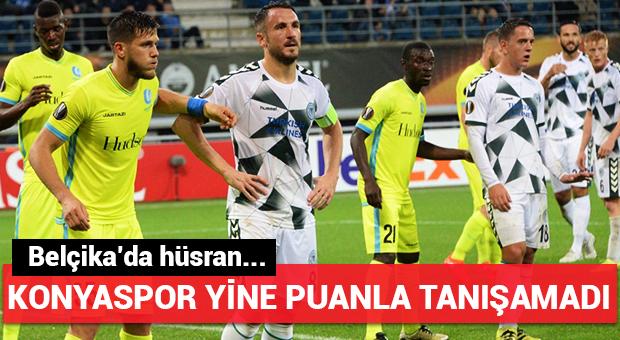 Konyaspor'un yüzü yine gülmedi!