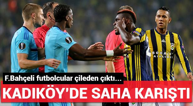 Kadıköy'de saha karıştı!