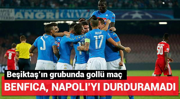 Napoli - Benfica maçında gol yağmuru!