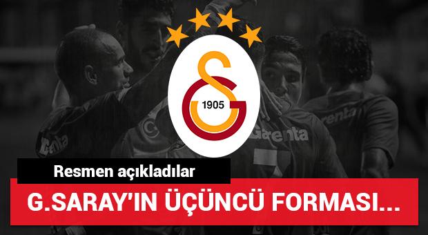 Galatasaray'ın 3. forması açıklandı
