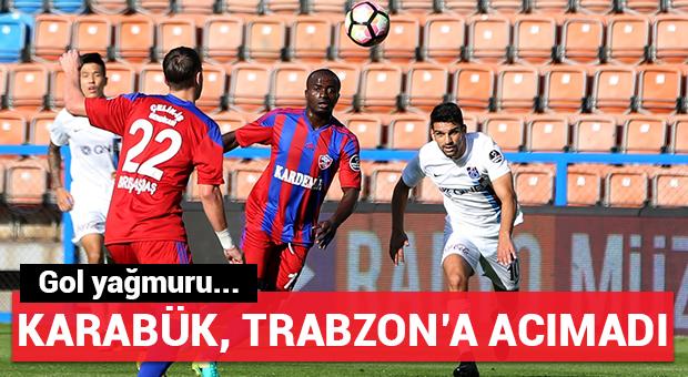 Karabük, Trabzon'a acımadı!