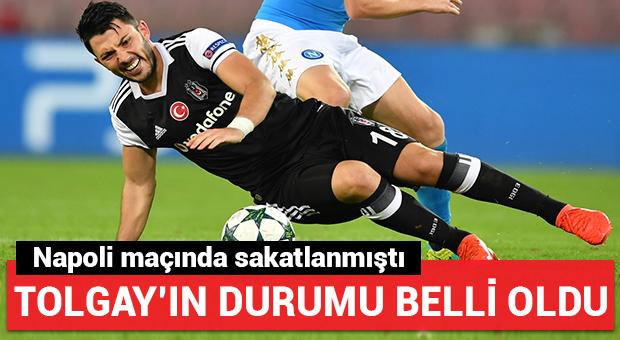 Beşiktaş'ta Tolgay'ın durumu belli oldu!
