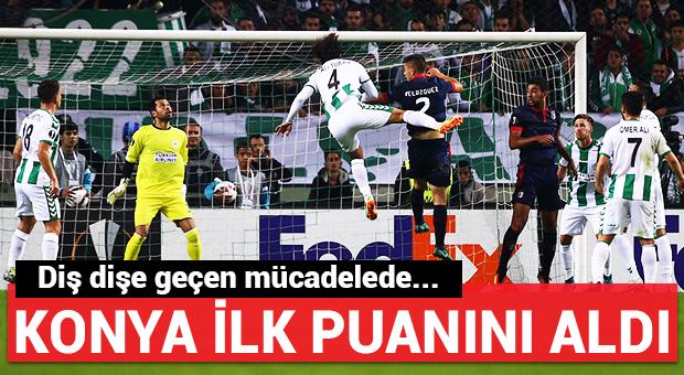 Konyaspor ilk puanını aldı!