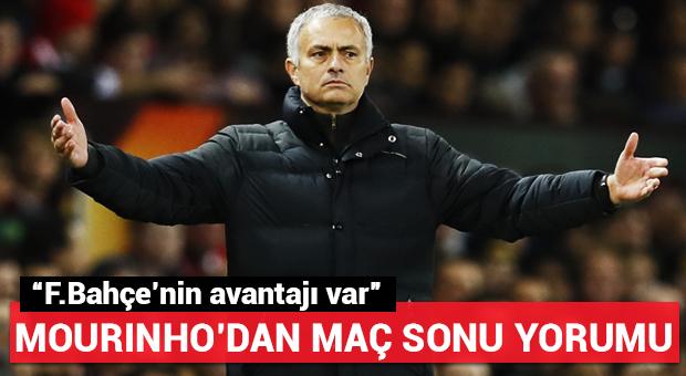 Mourinho'dan Fenerbahçe sözleri