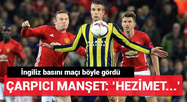 İngiliz basınından olay Fenerbahçe manşetleri!