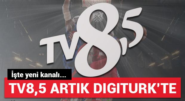 TV8,5 artık Digitürk 51. kanalda