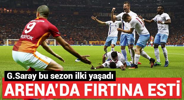 Arena'da Trabzon fırtınası!