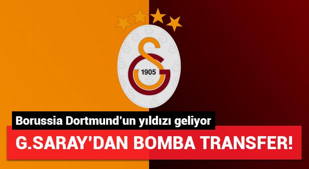 G.Saray'dan bomba transfer! Dortmund'ın yıldızı geliyor...
