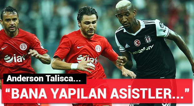 Talisca'dan maç sonu açıklaması!