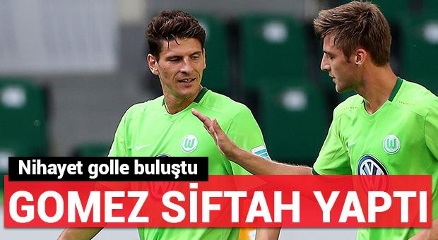 Gomez ilk golünü attı!