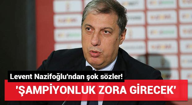 G.Saraylı yönetici: 'Şampiyonluk zora girecek!