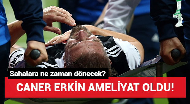 Caner Erkin'den Beşiktaş'a kötü haber!