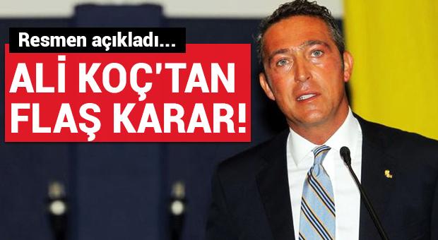 Ali Koç'tan flaş 'F.Bahçe' kararı!