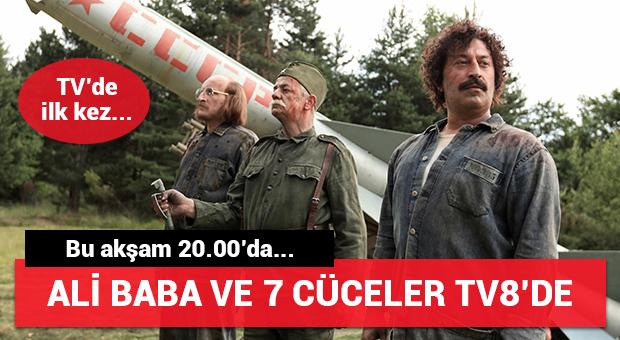 Ali Baba ve 7 Cüceler bu akşam TV8'de...