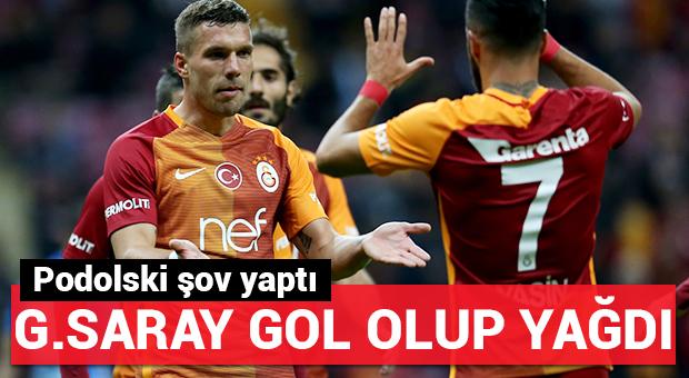 G.Saray'dan Dersimspor'a gol yağmuru!