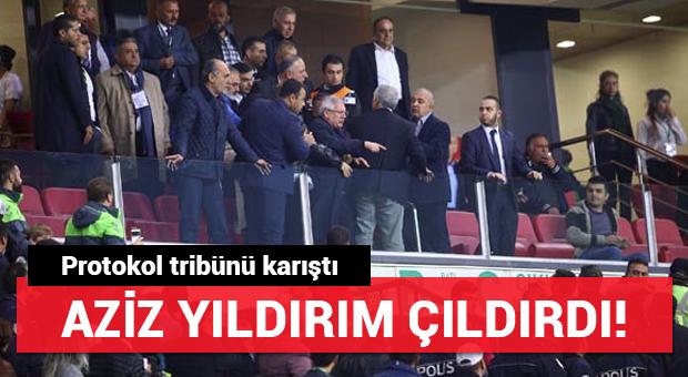 Konya'da Aziz Yıldırım'ı çıldırtan olay!