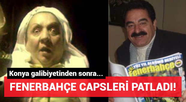 Konya galibiyetinden sonra Fenerbahçe capsleri patladı!