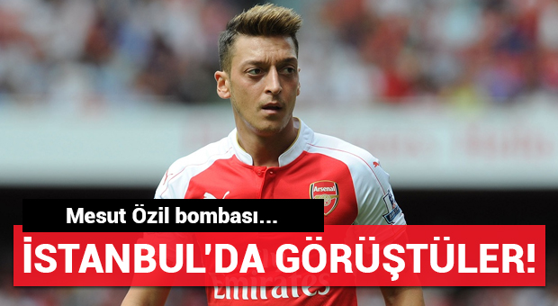 Mesut Özil İstanbul'a geldi! Çok gizli görüşme...