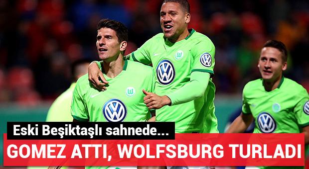 Gomez attı, Wolfsburg turladı!