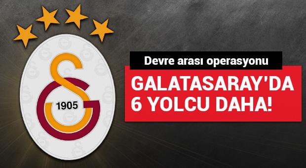Galatasaray'da devre arası operasyon var! 6 isim yolcu...