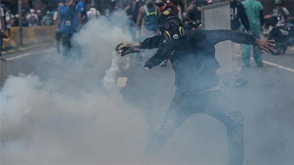 Venezuela'daki gösterilerde 55 kişi hayatını kaybetti